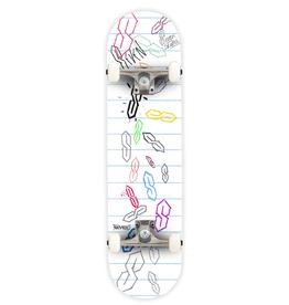 "Seven SEVEN SKATES School Kid Complete Skateboard, 7.8"""