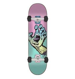 "Santa Cruz SANTA CRUZ Pastel Screaming Hand Complete Skateboard, 6.75"""