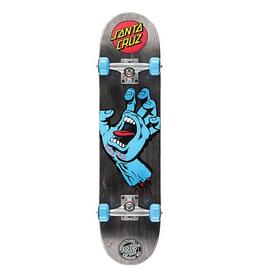 "Santa Cruz SANTA CRUZ Screaming Hand Complete Skateboard, 7.5"""