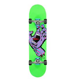 "Santa Cruz SANTA CRUZ Screaming Hand Party Complete Skateboard, 7.75"""