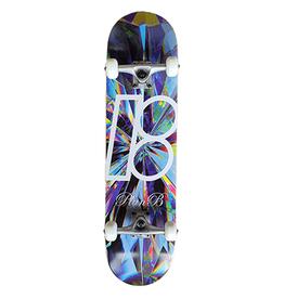 "Plan B PLAN B Skateboards, Team Kaleidoscope Complete Skateboard, 8.0"""