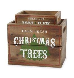 Wooden Tree Box