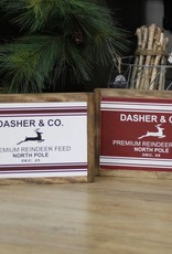 Dasher and Co. Wood Sign