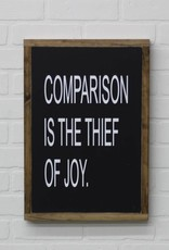 Comparrison is the Thief of Joy