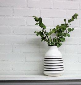Grey/White Vase