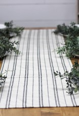 RailRoad Stripe Table Runner 72""