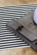 Cotton Stripe Table Runner 6'