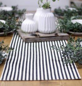 Cotton Stripe Table Runner 6'