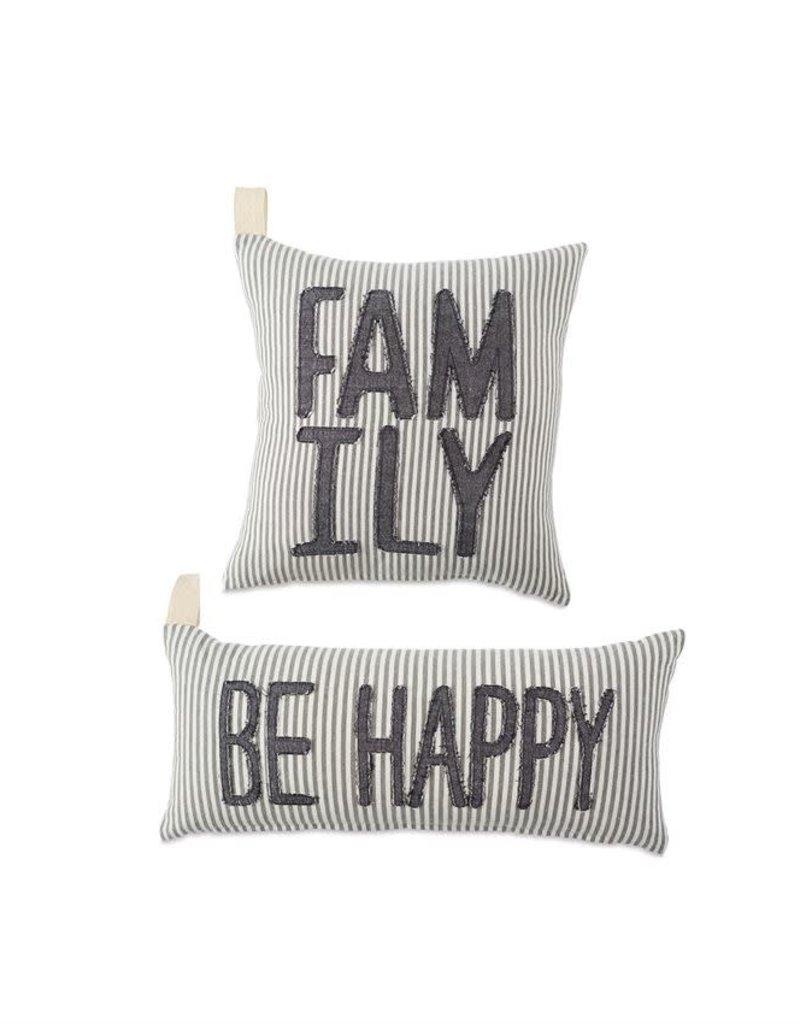 Family Stripe Pillow