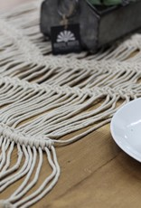 6' Loose Weave Macrame Table Runner
