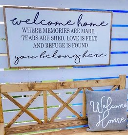 Welcome home, you belong here