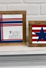 "God Bless America 7.5"" x 7.5"""