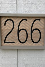 Personalized Address Sign