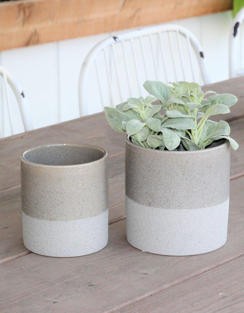 Flower Pots, 2 stripes