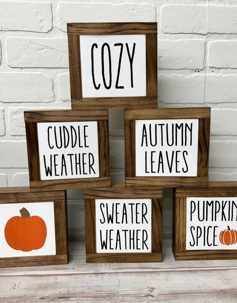 Fall Baby Signs