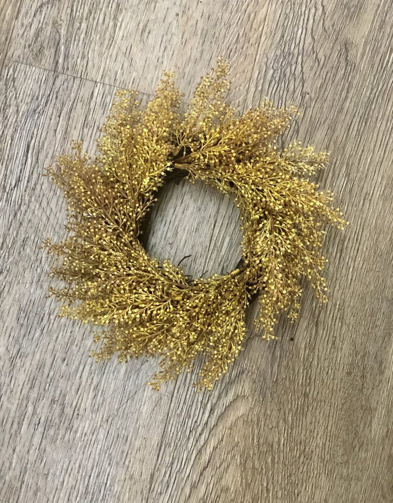 Wheat Candle Ring 8""