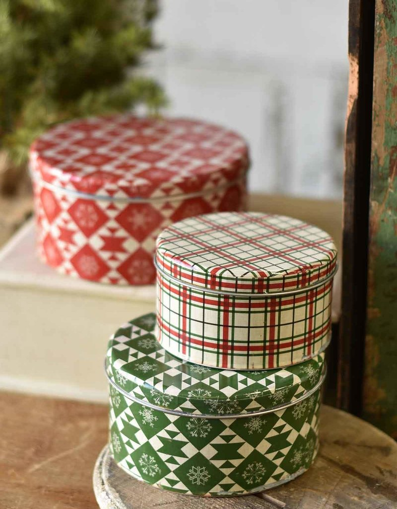 Deck the Halls Canisters