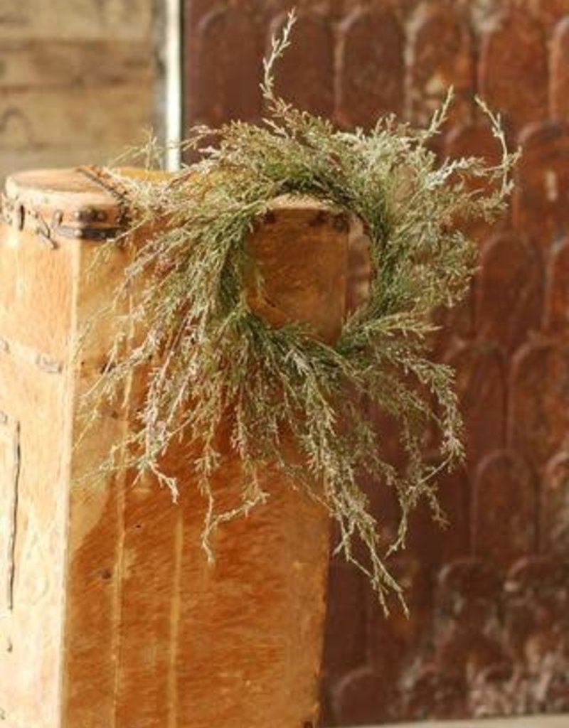 Weeping Cedar Candle Ring