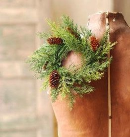 Prickly Pine Candle Ring