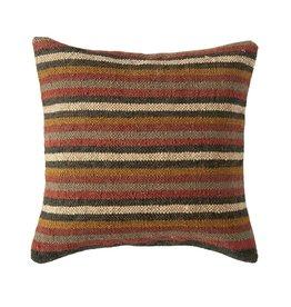 Cotton Kilim Pillow Multi Stripe