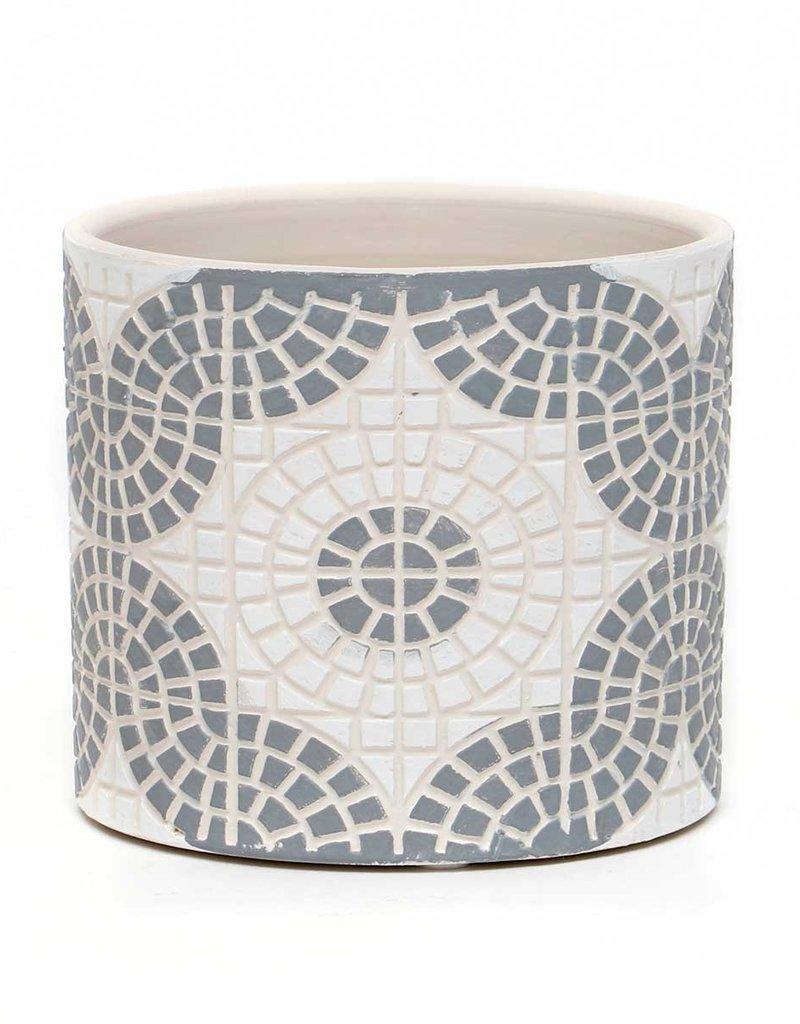 Mosaic Concrete Circle