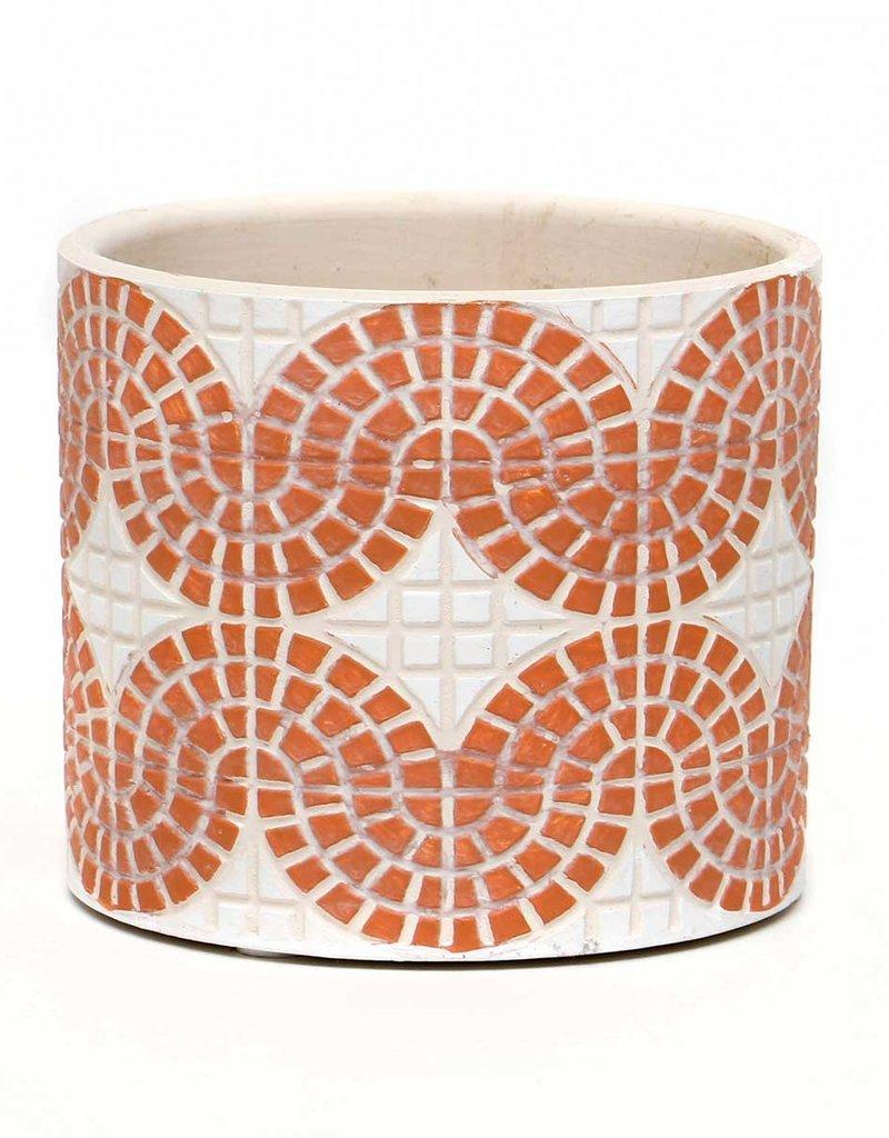 Mosaic Concrete Coral