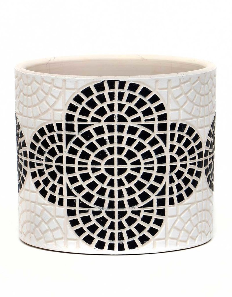 Mosaic Concrete Black
