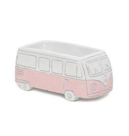 Concrete Pink Bus