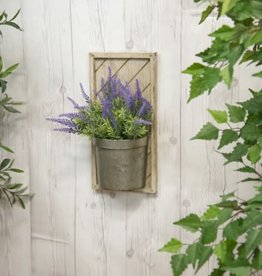 Wood Wall Planter