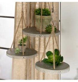 Metal Hanging Planter Shelves