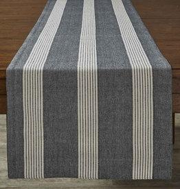 Graphite Stripe TableRunner