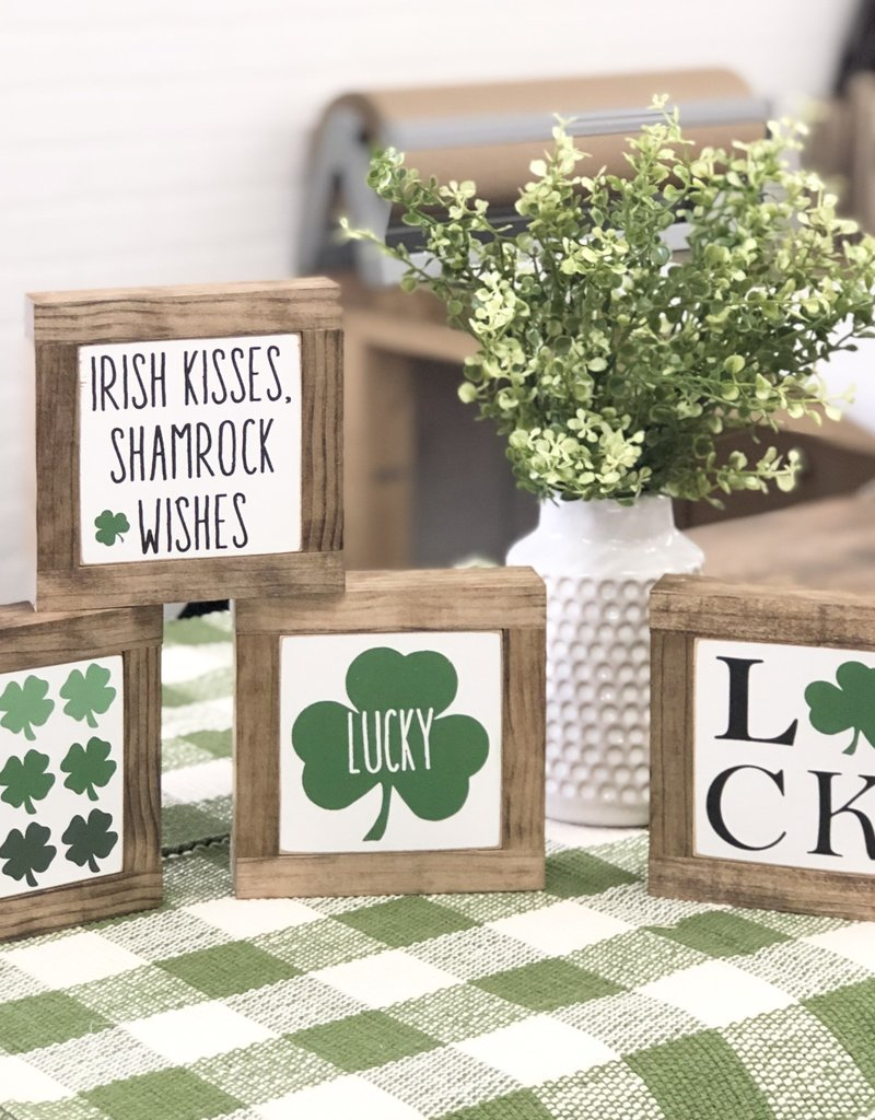 St. Patrick's Day baby signs