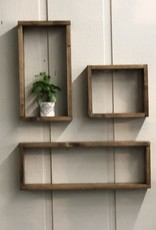 Open Box Shelves