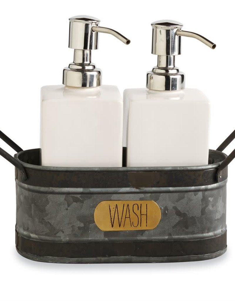Soap in Tin Caddy Set