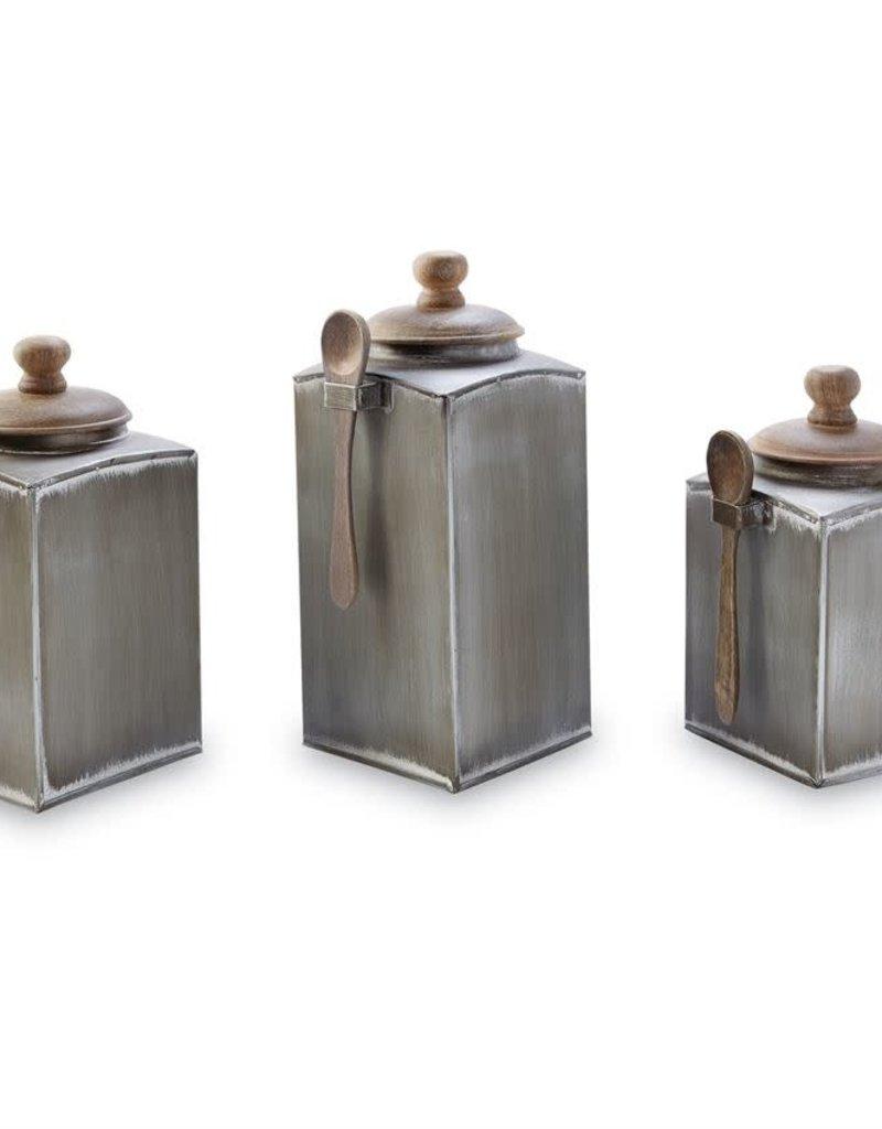 Tin Canister Set