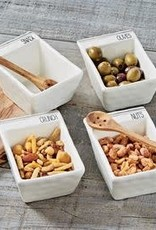 Nuts Dip Snack Bowl Set