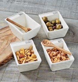 Nuts Dip Snack Bowl Set