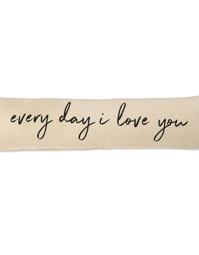 everyday I love you long pillow