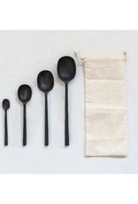 Cast Aluminum Spoons S/4 Black
