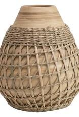 """6.5"""" Bamboo Vase"""