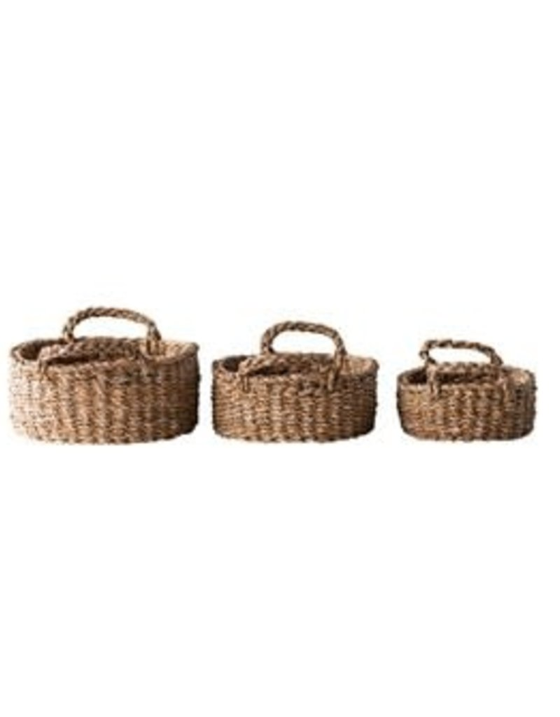 Seagrass Oval Baskets