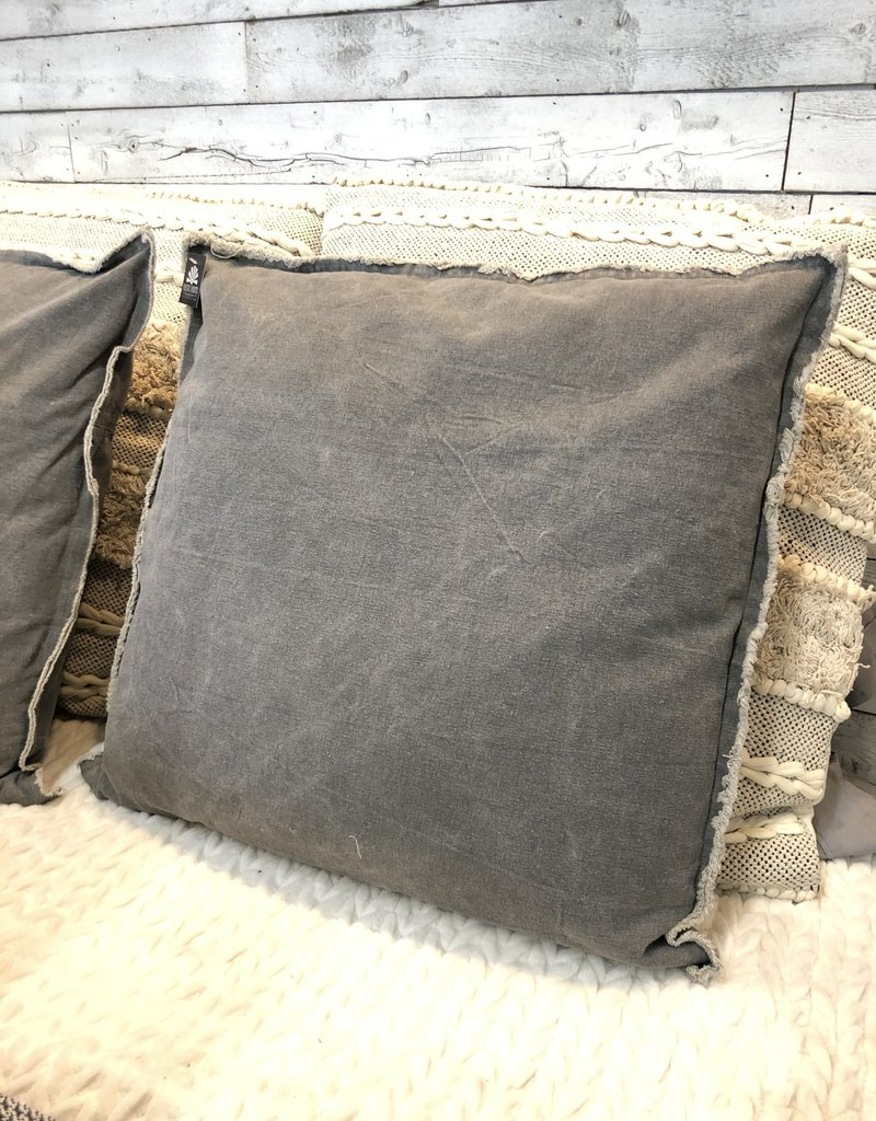 Washed Canvas Pillow