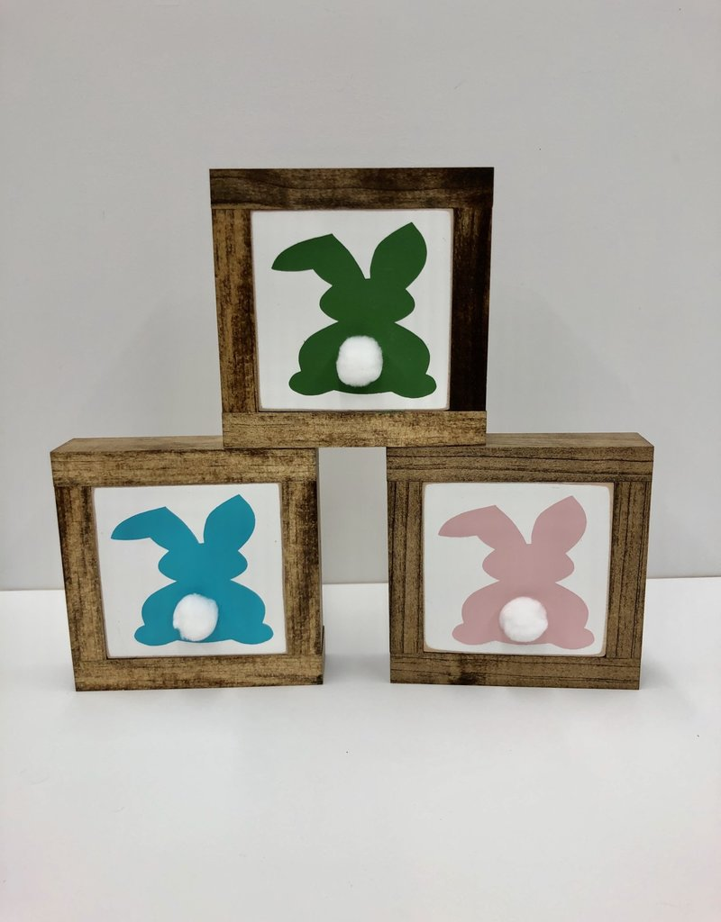 Bunny butts baby sign