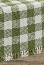 Wicklow Check Table Runner 13x36 Sage