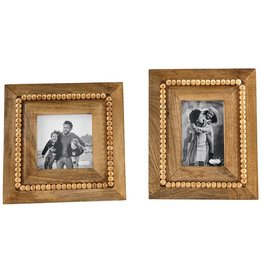 Beaded Wood Frame