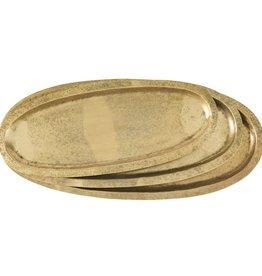 Brass Oval Tray