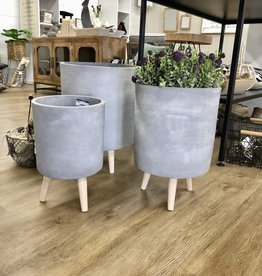 Fiber Clay Planter
