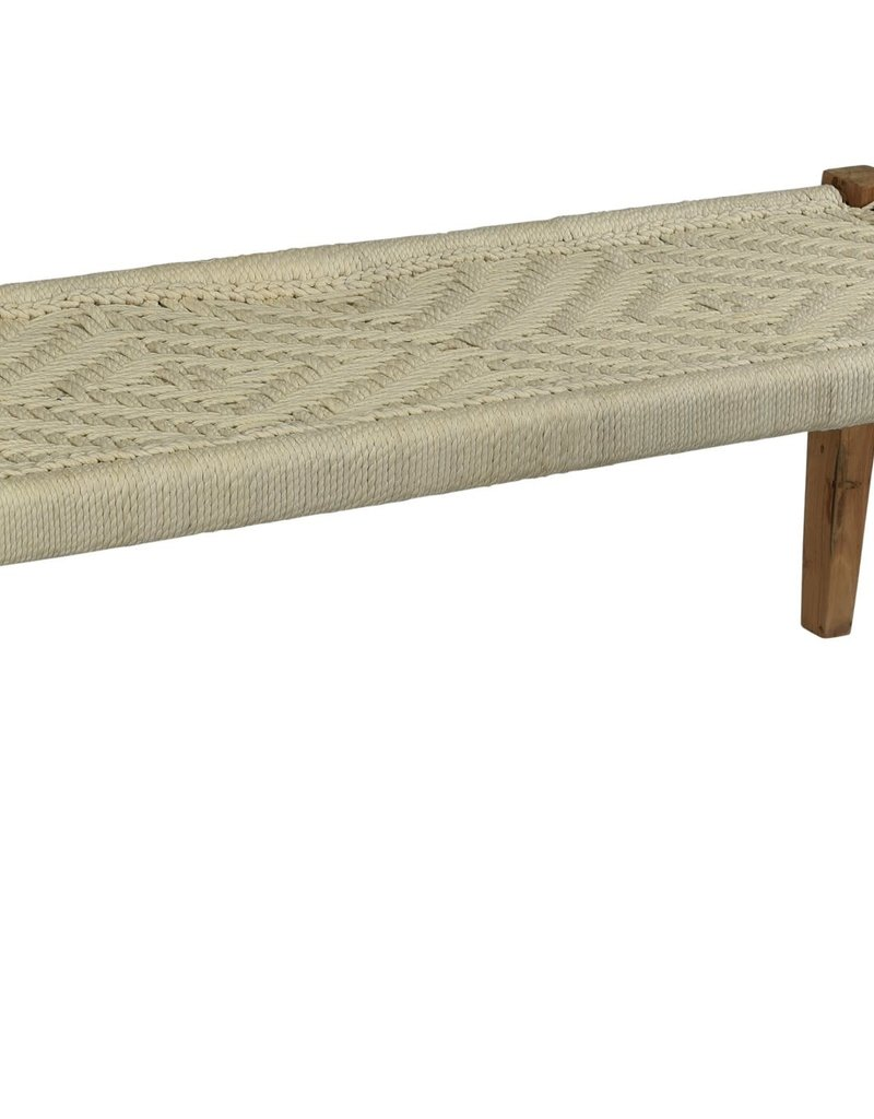 Jute Yarn Bench