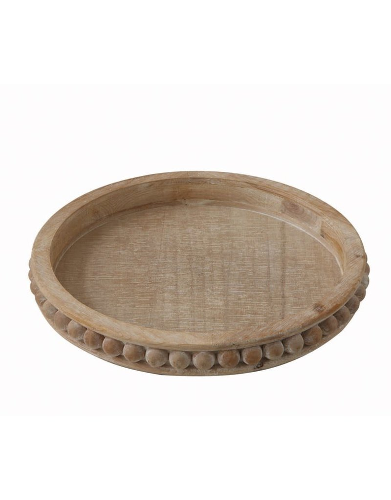 "16"" Round Decorative Tray"