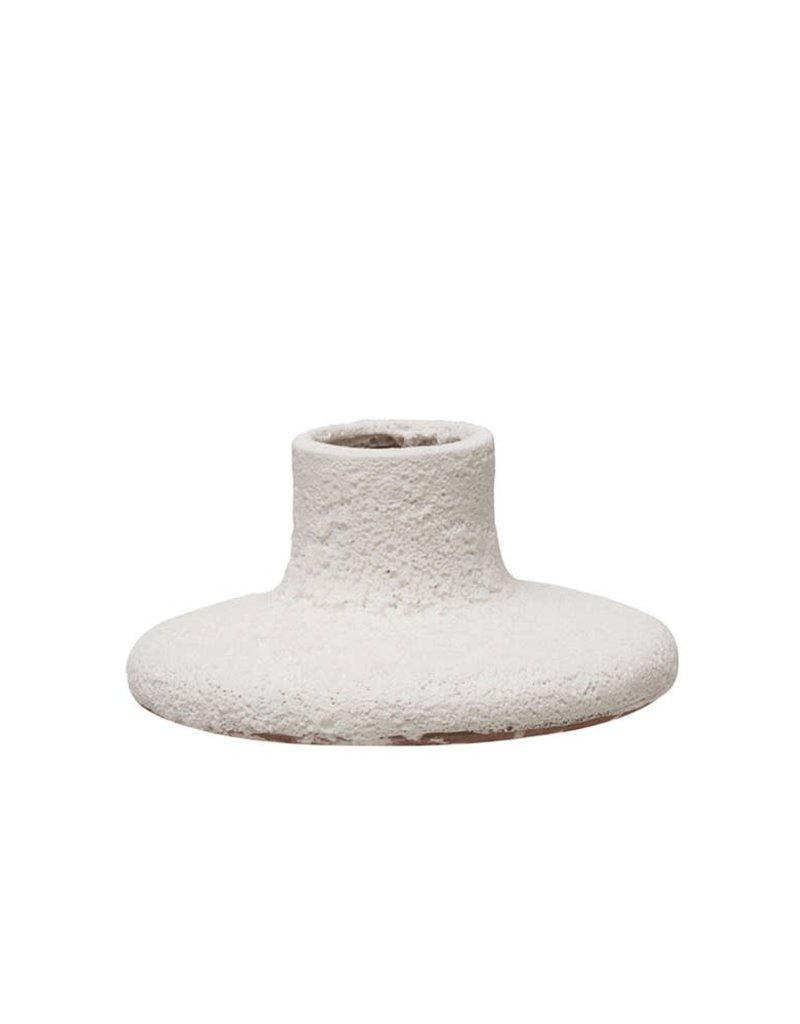 Terracotta Taper Candle Holder